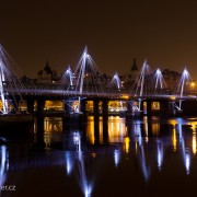 Foto Hungerford Bridge and Golden Jubilee Bridges
